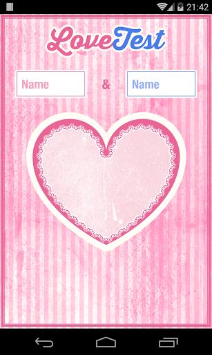 LoveTest True Love Calculator