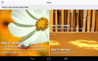 Screenshot of Daily Light (Lite)