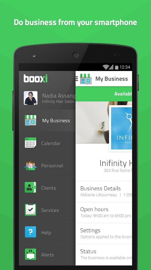 booxi for business- screenshot