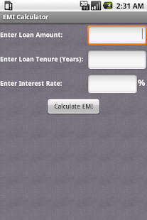 EMI Calculator Premium - screenshot thumbnail