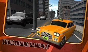 Screenshot of Duty Taxi Driver 3D Parking