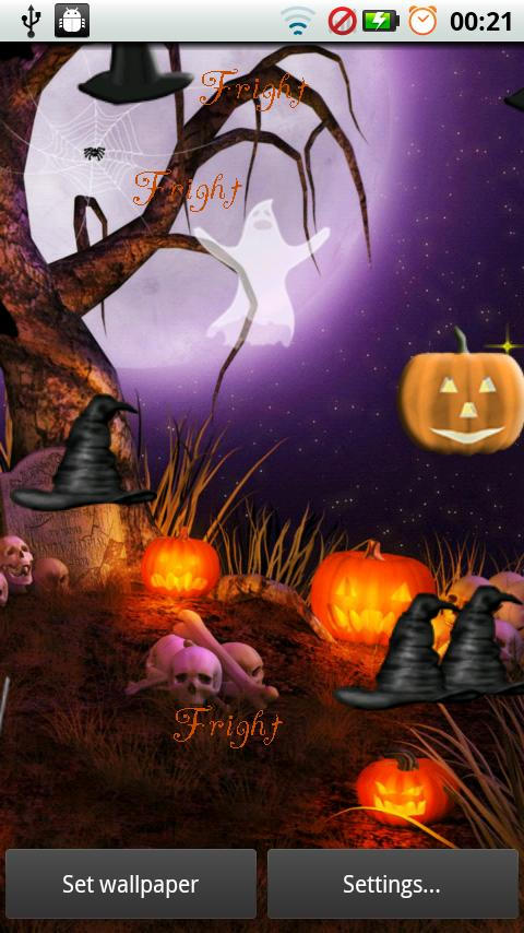 Halloween Live Wallpaper Pop - screenshot