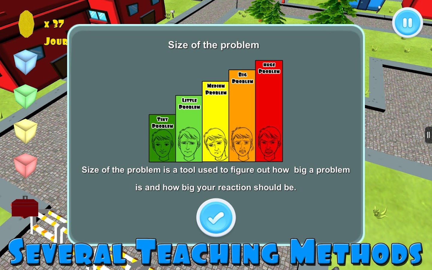 The Zones of Regulation - screenshot