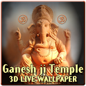 Shri Ganesha 3D Temple LWP icon