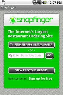Snapfinger Restaurant Ordering - screenshot thumbnail