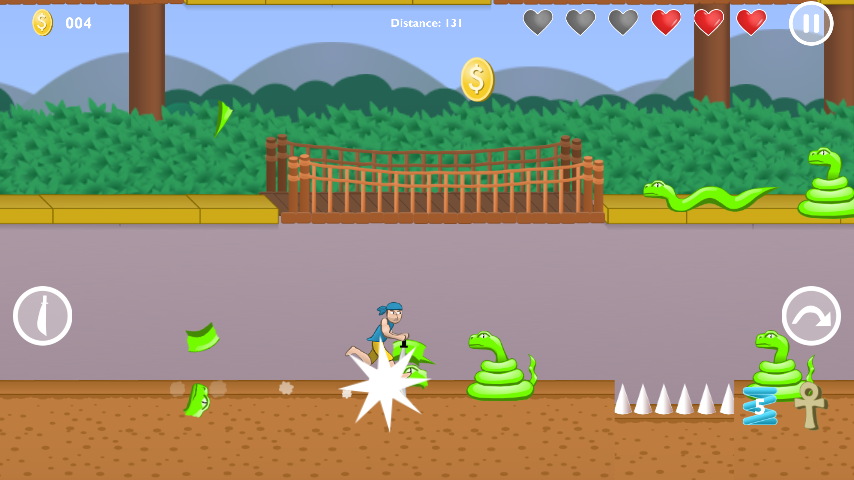 Snake Chop- screenshot