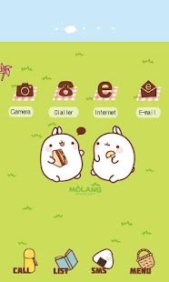 CUKI Theme Picnic with Molang