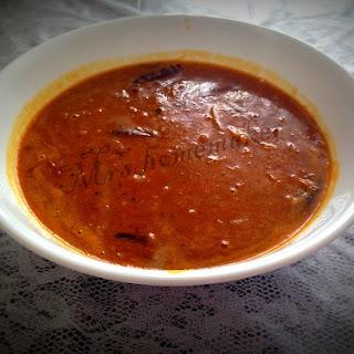 Homemade Onion Sambaar ( without powder )