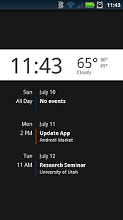 Lockscreen Agenda Free - screenshot thumbnail