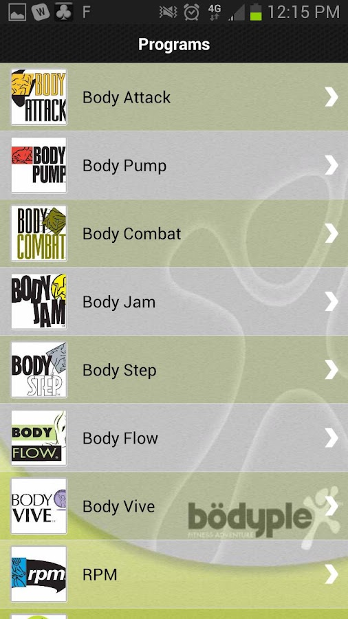 Bodyplex Cumming GA - screenshot