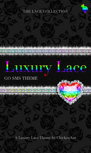 Rainbow Luxury Lace Theme SMS