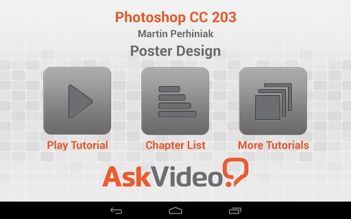 Photoshop CC 203 Poster Design