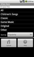 Screenshot of xPiano Share