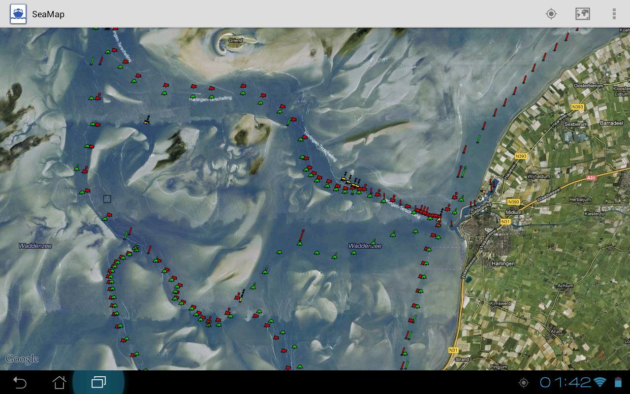 SeaMap- screenshot