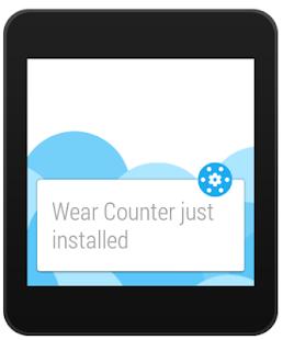Wear Apps Tracker Screenshot 1