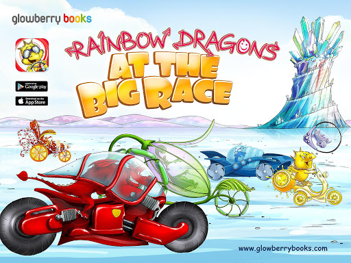 Rainbow Dragons at the BigRace