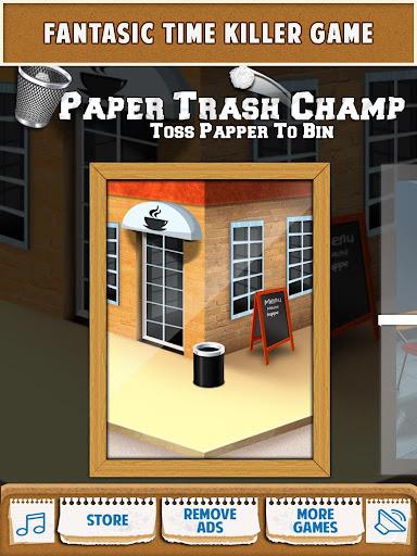 Paper Trash Champ
