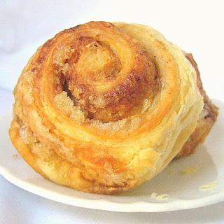 Croissant Dough Cinnamon Rolls.