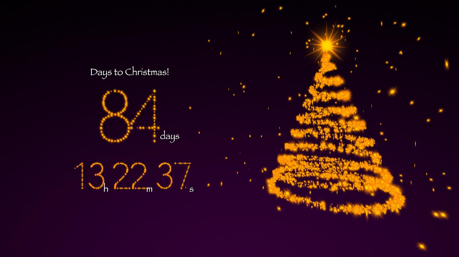 christmas countdown desktop wallpaper 2012