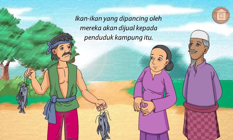 Contoh Cerita Rakyat Keong Mas - Contoh SR