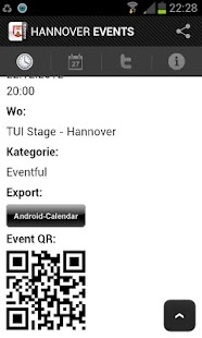 HANOVER EVENTS › Eventguide- screenshot thumbnail