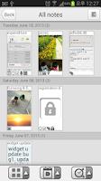 Screenshot of Memo & Note PRO