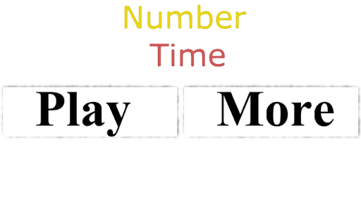 Number Time