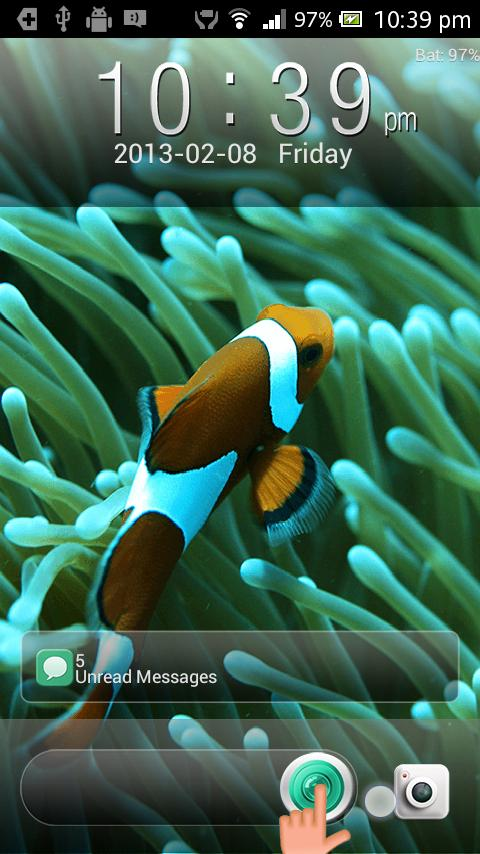 Classic Iphone Fish GO Locker - screenshot