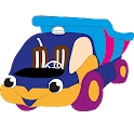 Child Car Coloring icon