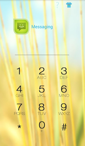 HI AppLock Autumn Theme