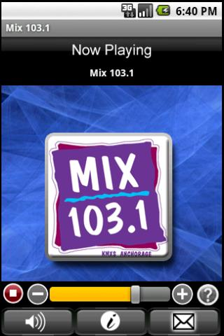 Mix 103.1 - screenshot