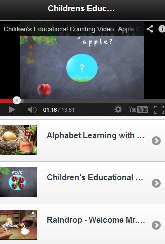 Childrens Educational Videos