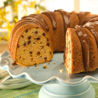 Chocolate Chip Peanut Butter Pound Cake.