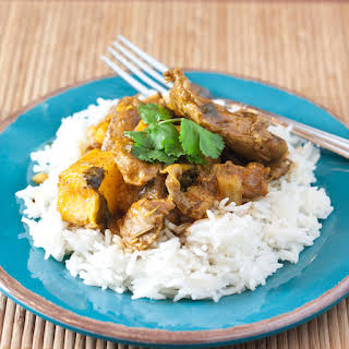Slow Cooker Lamb Curry.