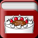Your Books Happy Birthday icon
