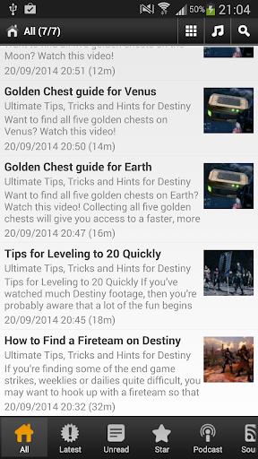 Free Destiny Guide
