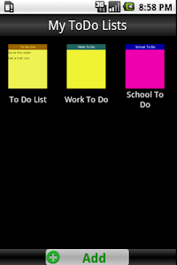 To Do List screenshot 0