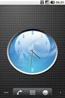 Screenshot of ALIEN watch 4x3 Analog Clock