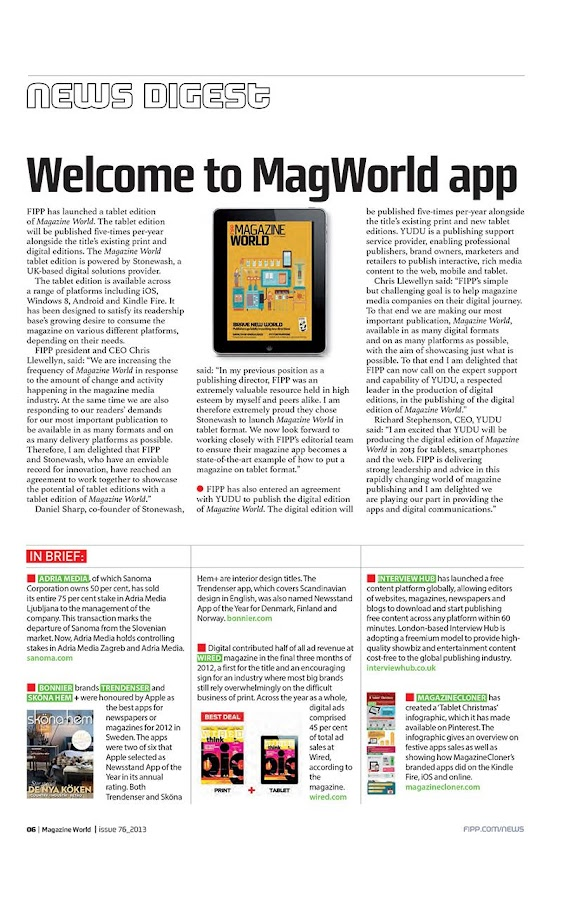Magazine World- screenshot