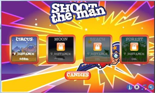 Disparar al hombre - No Ads
