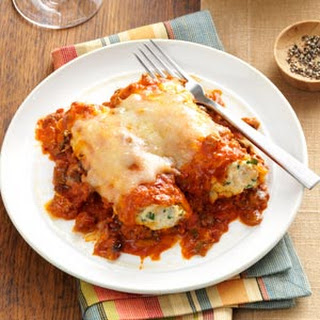Slow Cooker Two-Meat Manicotti