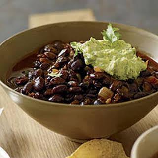 Ancho-Black Bean Chili.