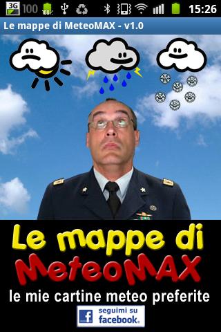 Le Mappe di MeteoMAX