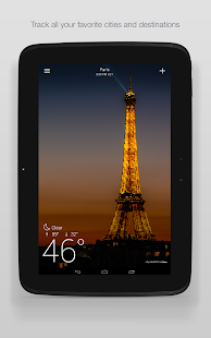 Yahoo Weather - screenshot thumbnail