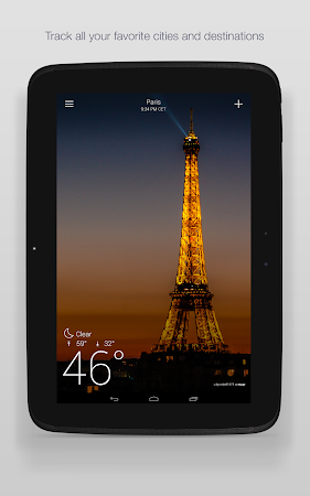 Yahoo Weather 1.3.9 screenshot 2120