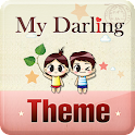 MyDarling School Girl theme icon