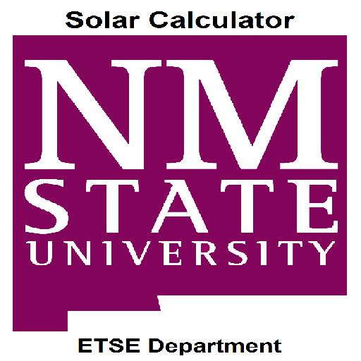 NMSU Solar Calculations 教育 App LOGO-APP試玩