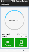 Screenshot of My Speed Test
