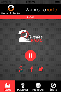 2 Ruedas Radio - screenshot thumbnail