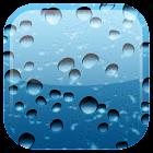 Gota de chuva fundo dinâmicar icon